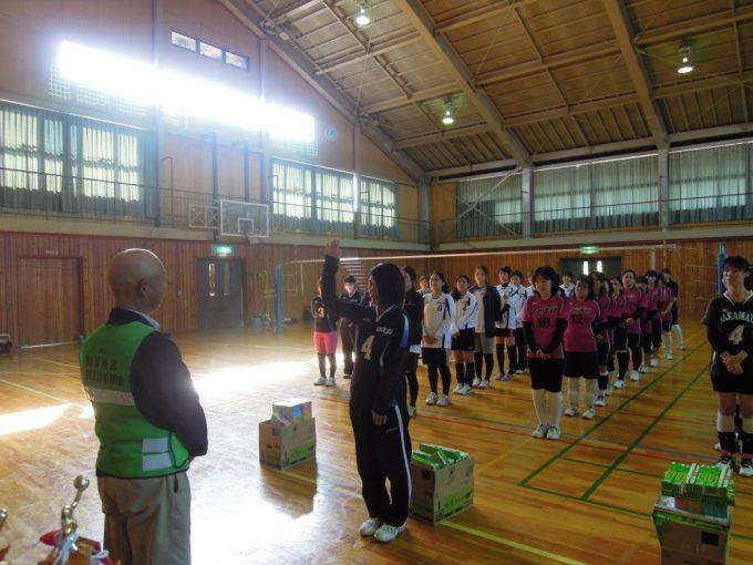 開会式 選手宣誓