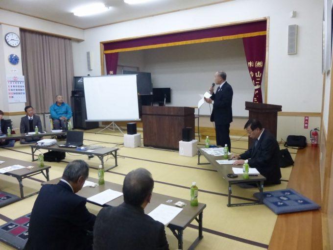 奥山区長より講評があり、講師の皆様に謝辞を伝え、閉講となりました。