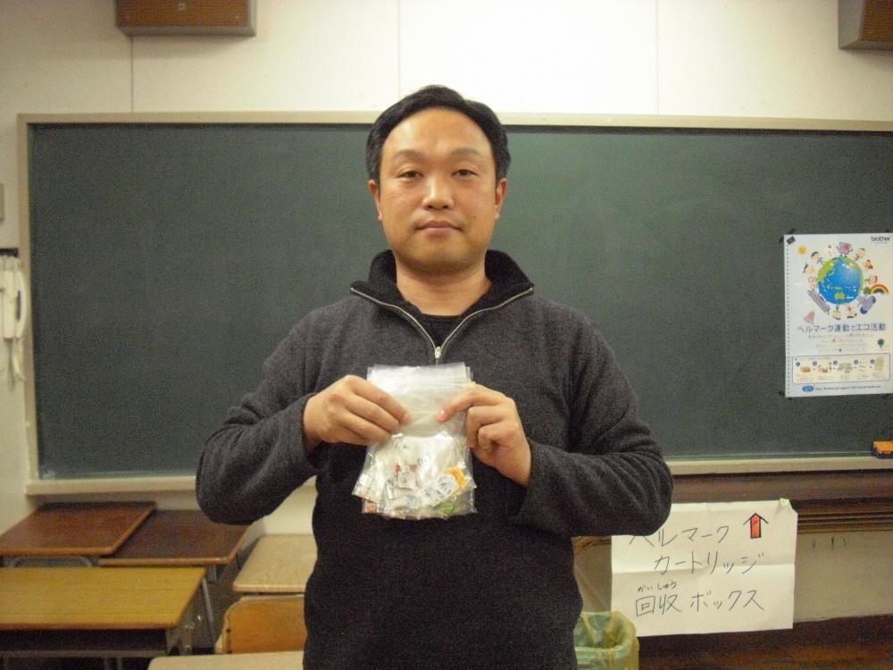 柳原小学校PTA会長 持田さん