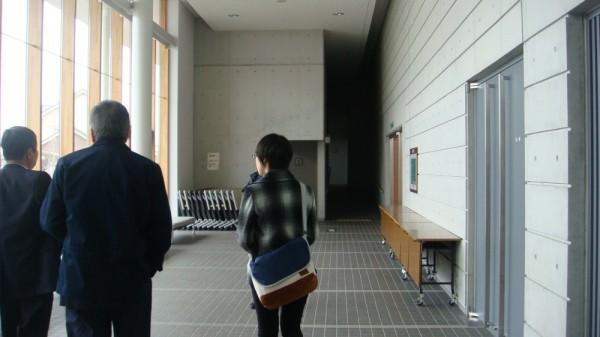 会場となる東部文化ホールをNHKの方と役員で見学しました