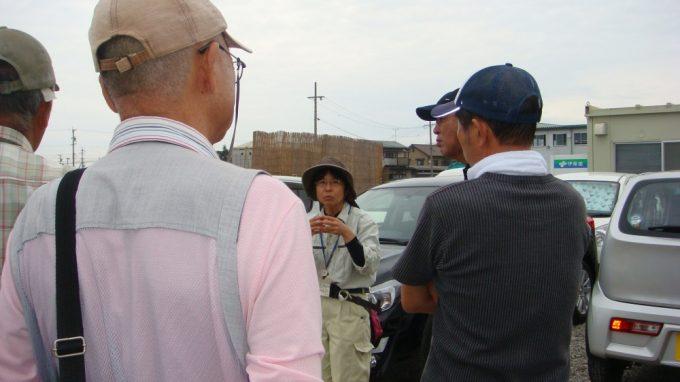 長野県埋蔵文化財センターの寺内さんが説明をしてくれます